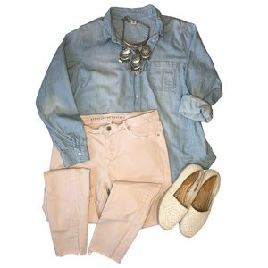 Articles of Society Blush Pink Skinny Jeans 31